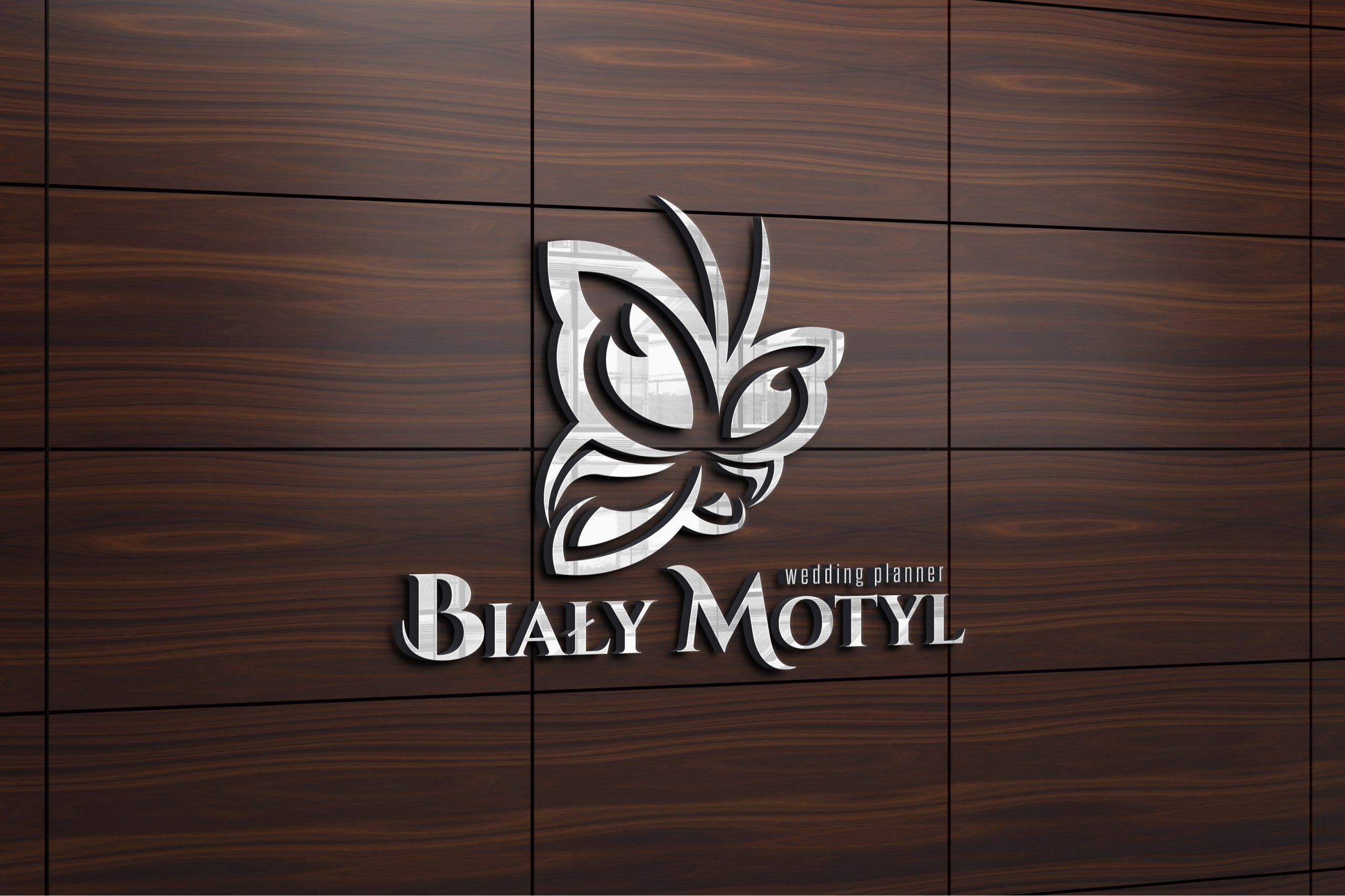 projekt logo motyl