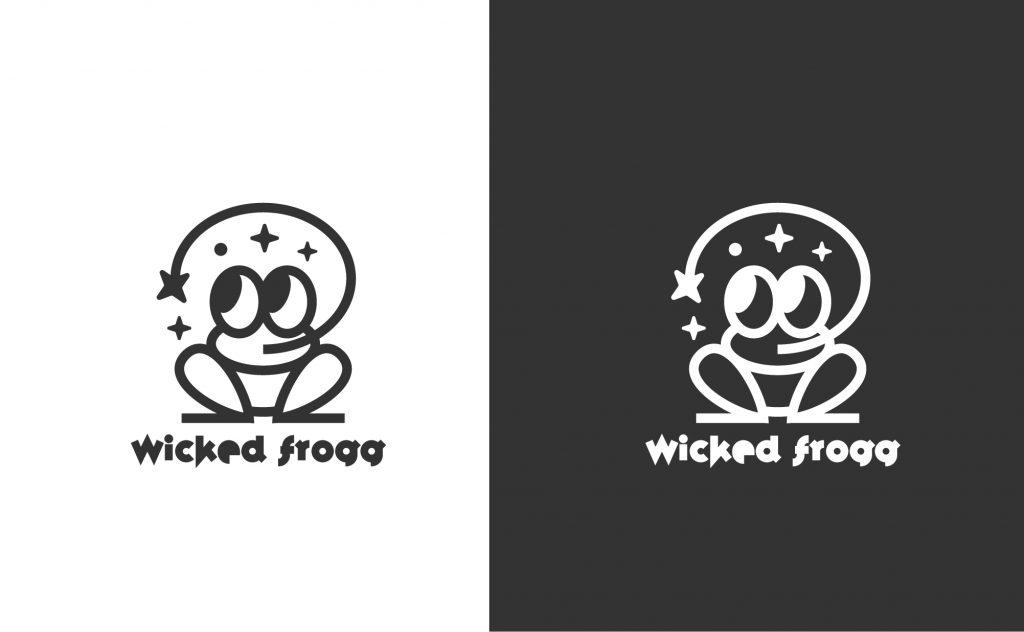 projekt logo żabka