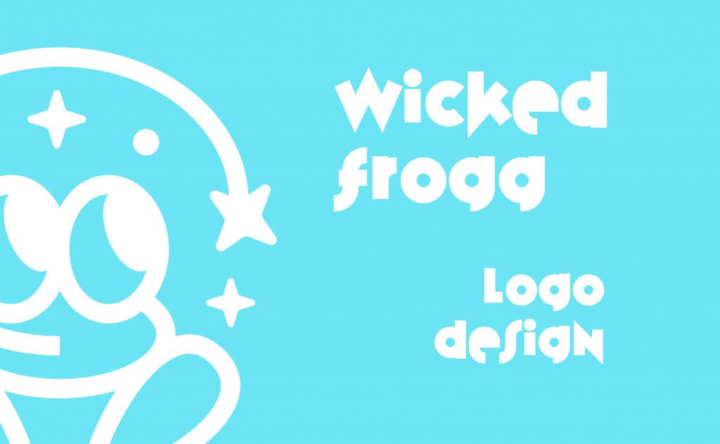 projekt logo żaba frog