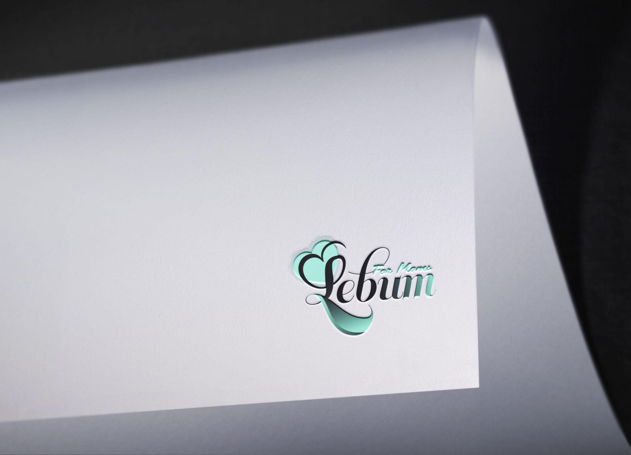 Logo Mockup Curved Paper 2