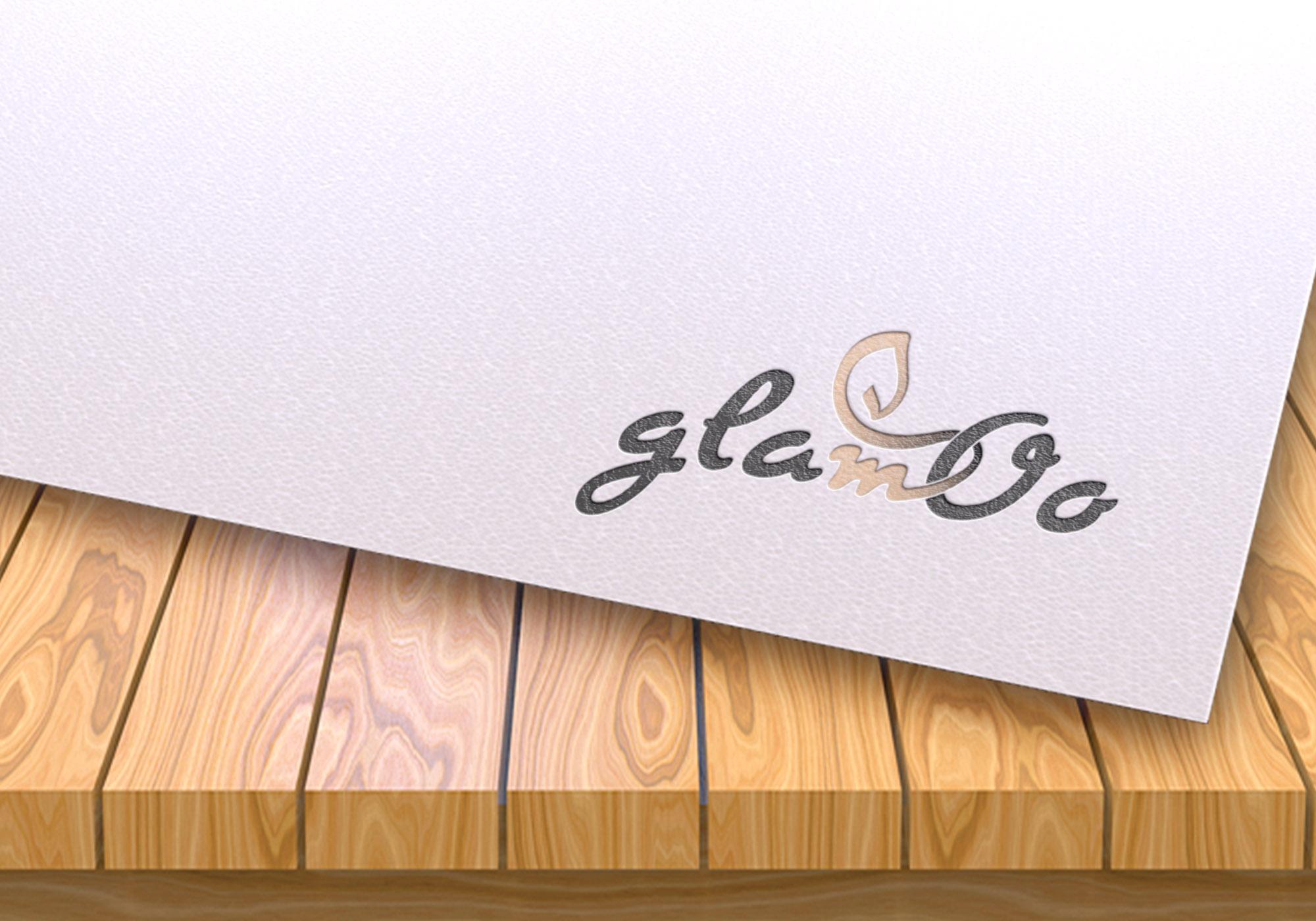logo z liściem