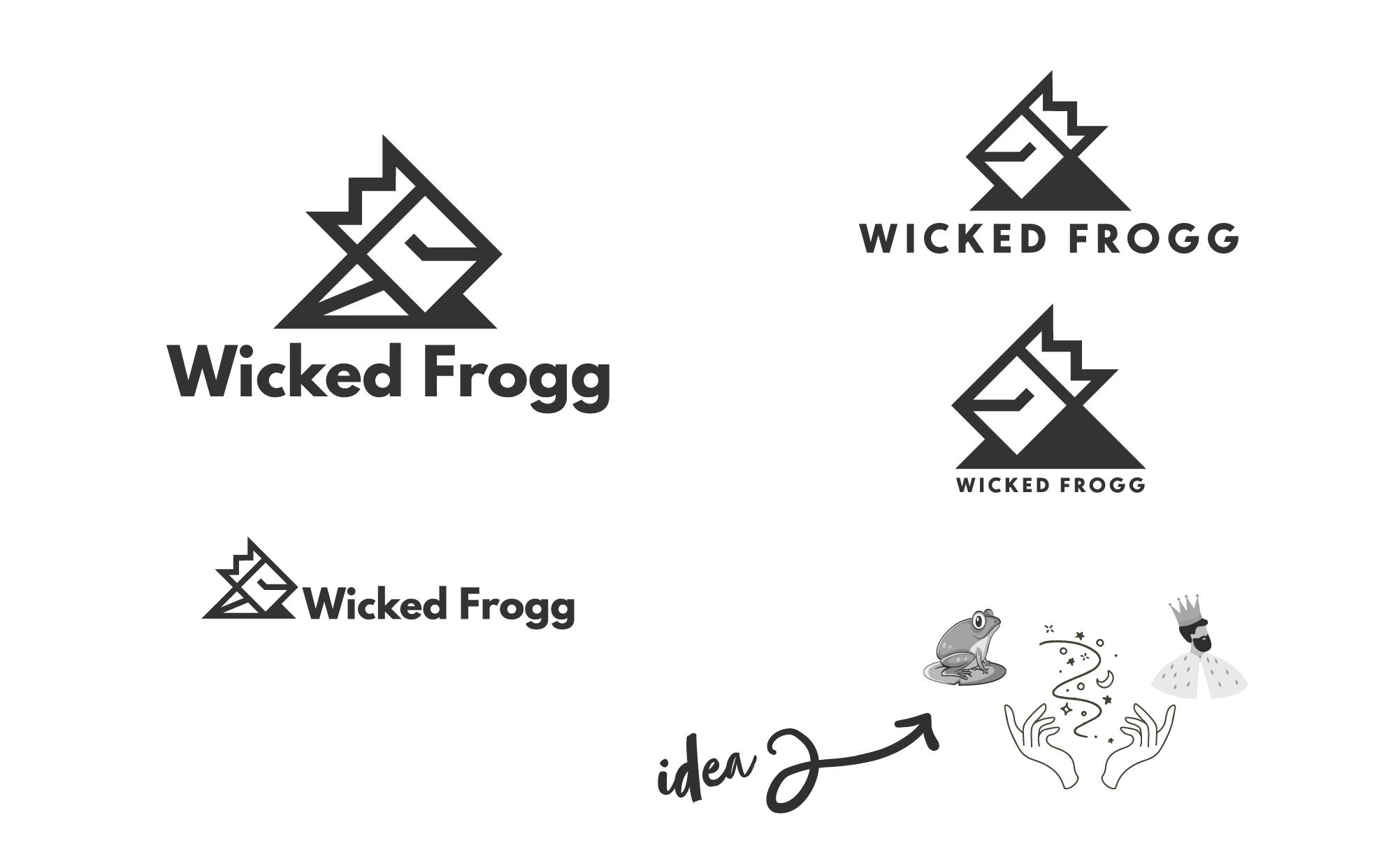 Projekt Logo Wicked Frogg ver 1-01