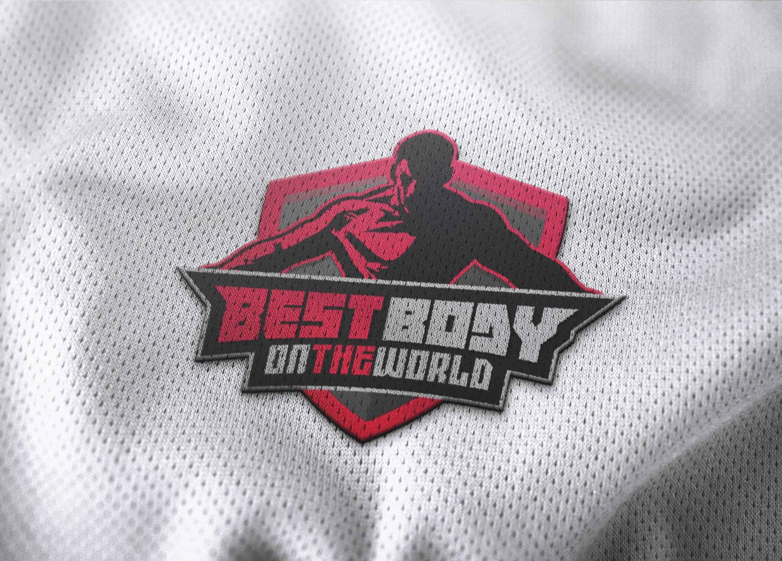 Basketball Jersey Logo Mockup