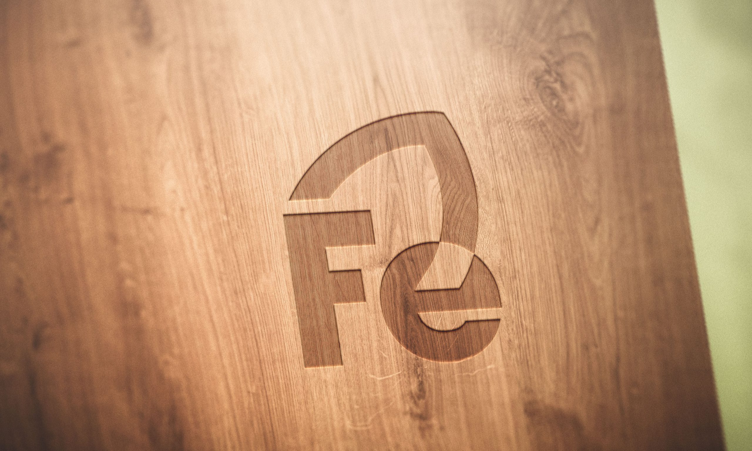 Logo Mockup Wood Various Styles
