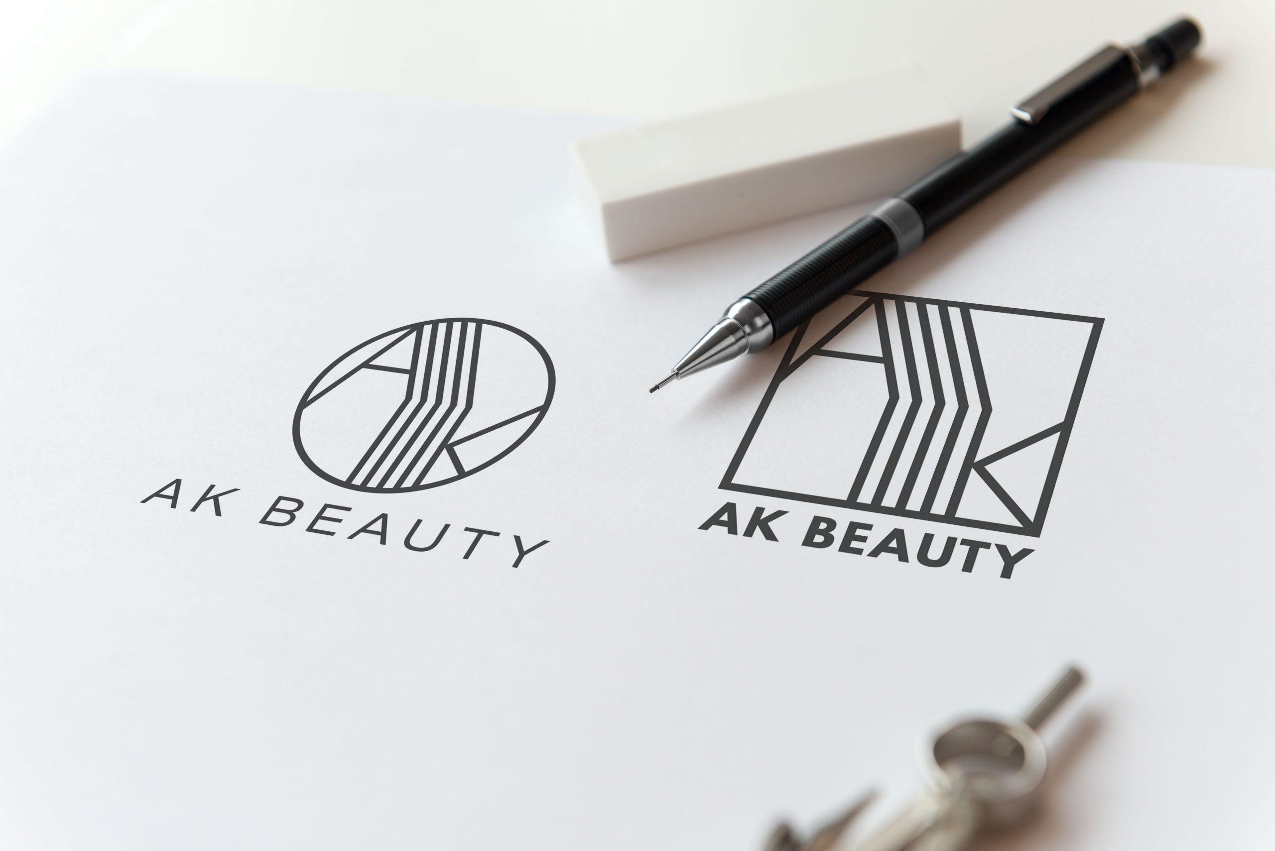 mockup logo szkic
