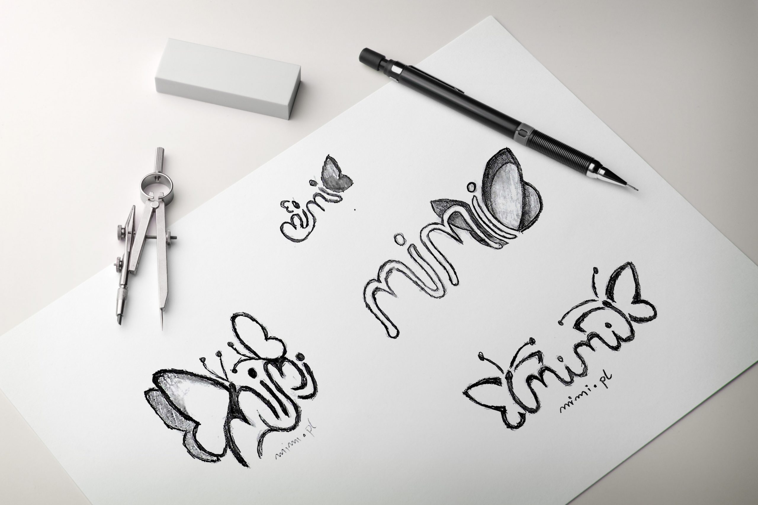 mockup szkic logo 1