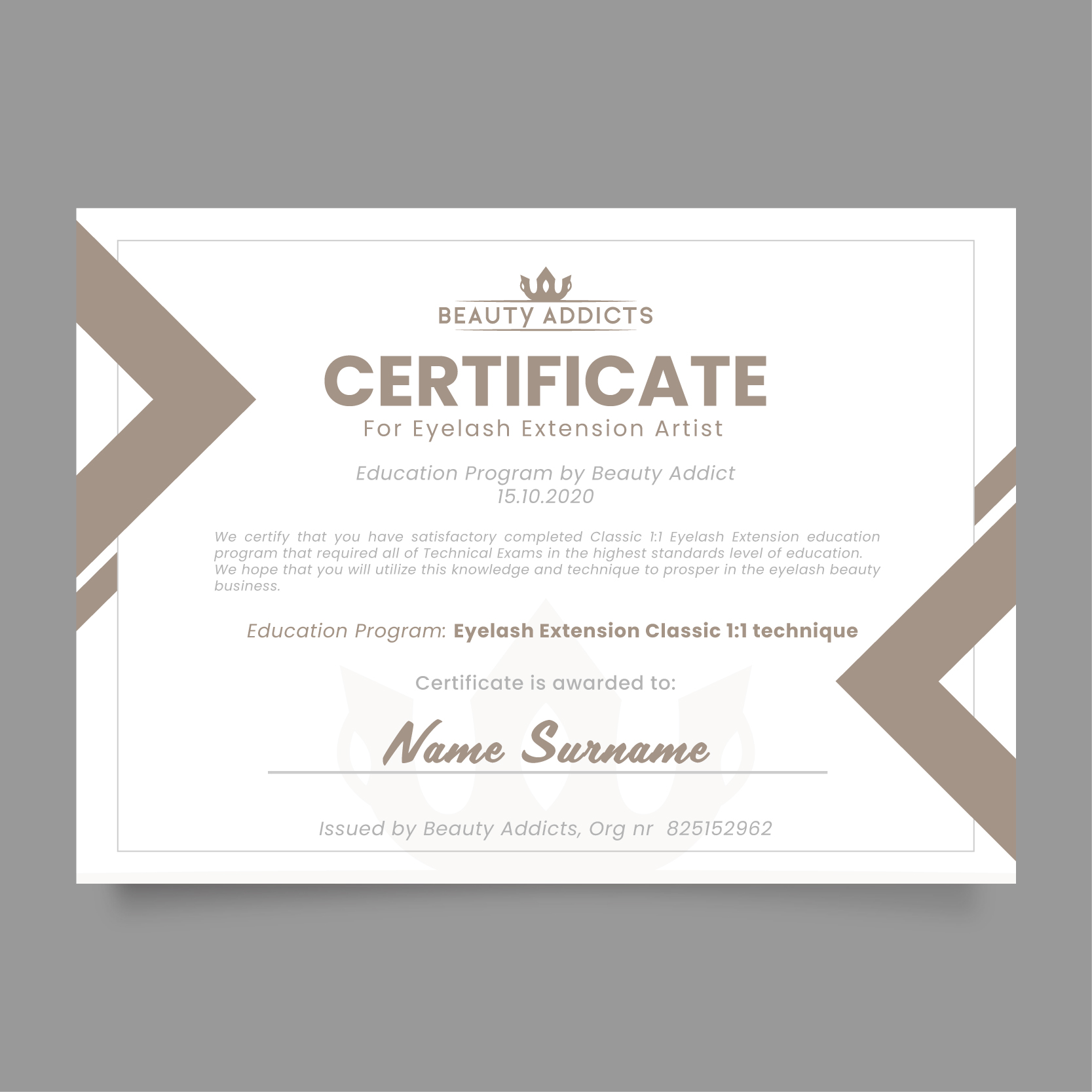 projekt certyfikatu -01