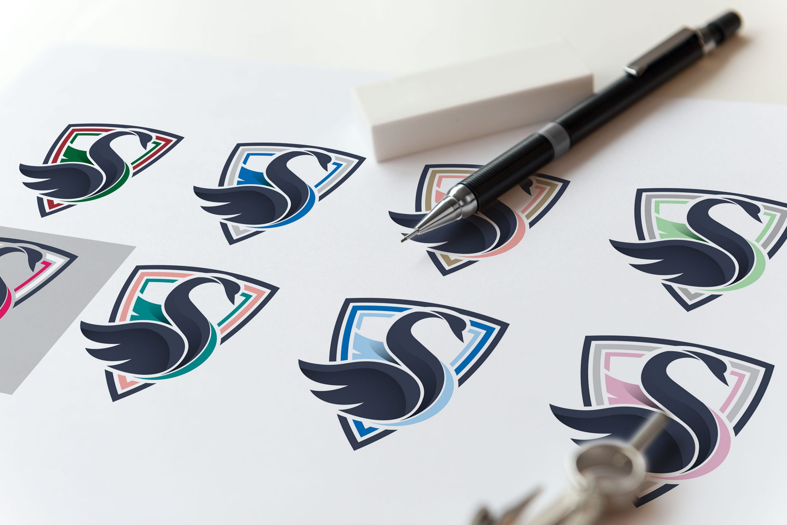 szkic mockup logo 2