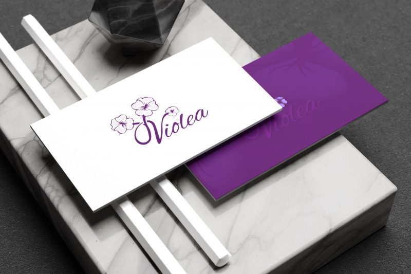 logo z kwiatkiem